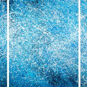 Wave, triptych