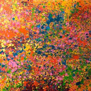 Летние цветы, диптих